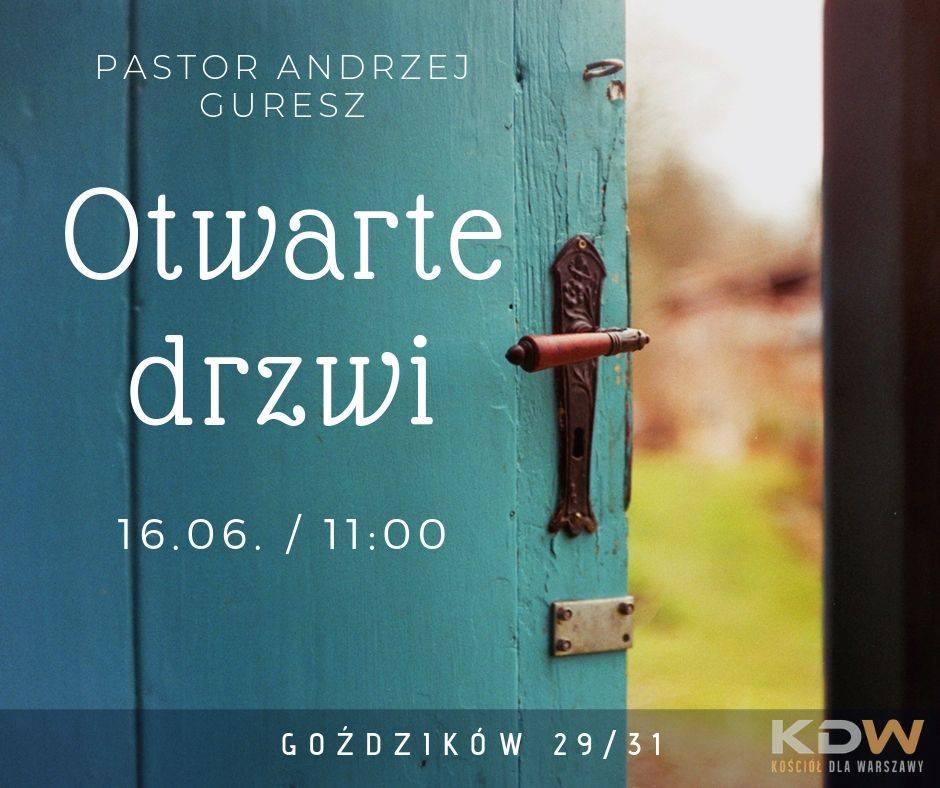 Otwarte drzwi – A. Guresz